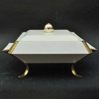 Vintage Buffet Warming Tray