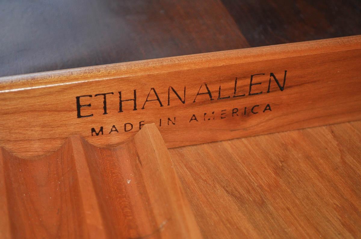 Ethan Allen American Impressions Desk With Hutch Ebth