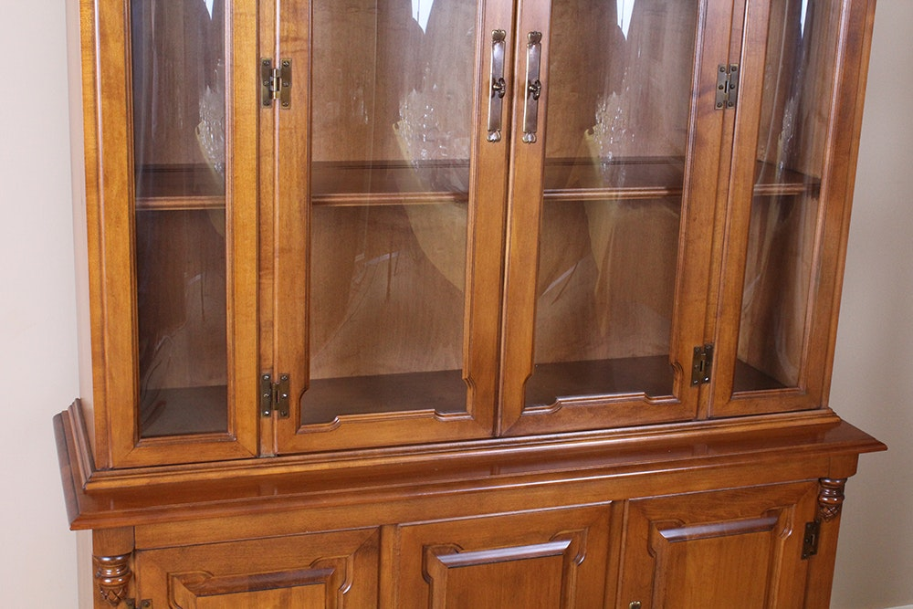 China Cabinet By Tell City Furniture Ebth