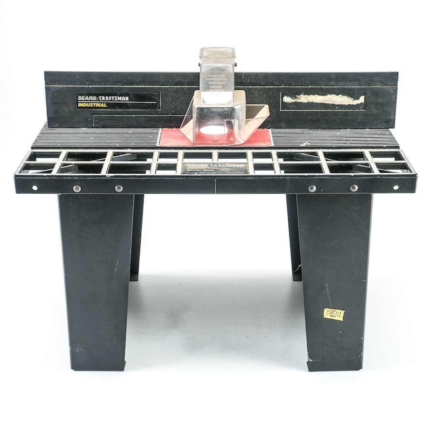 Sears router table ebth sears router table greentooth Image collections