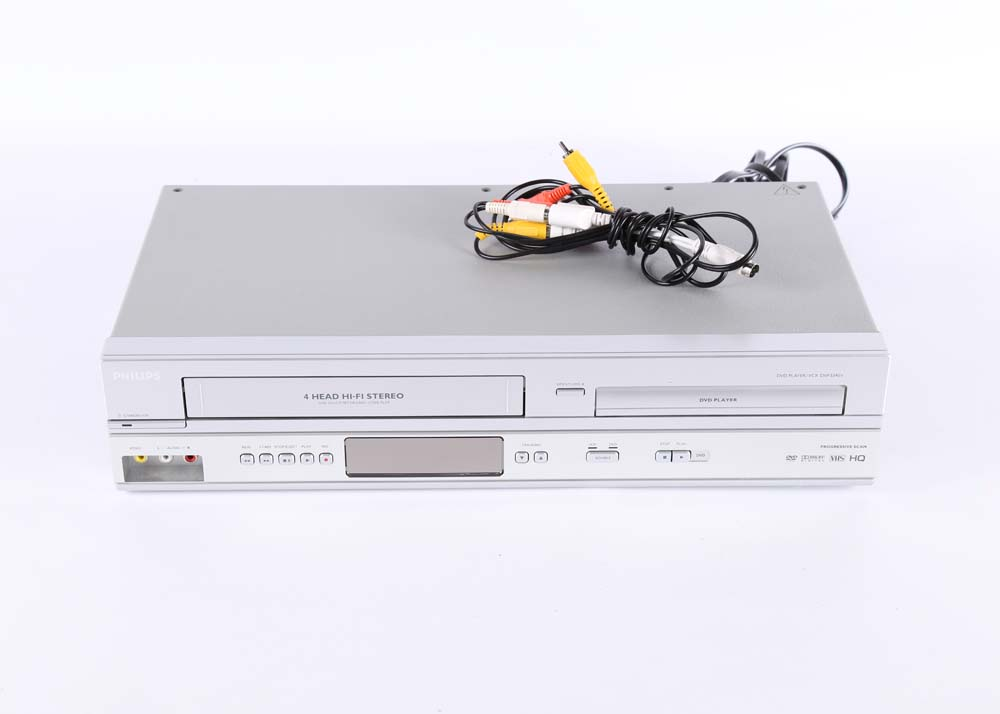 Vizio Television And Philips Vcr  Dvd Player