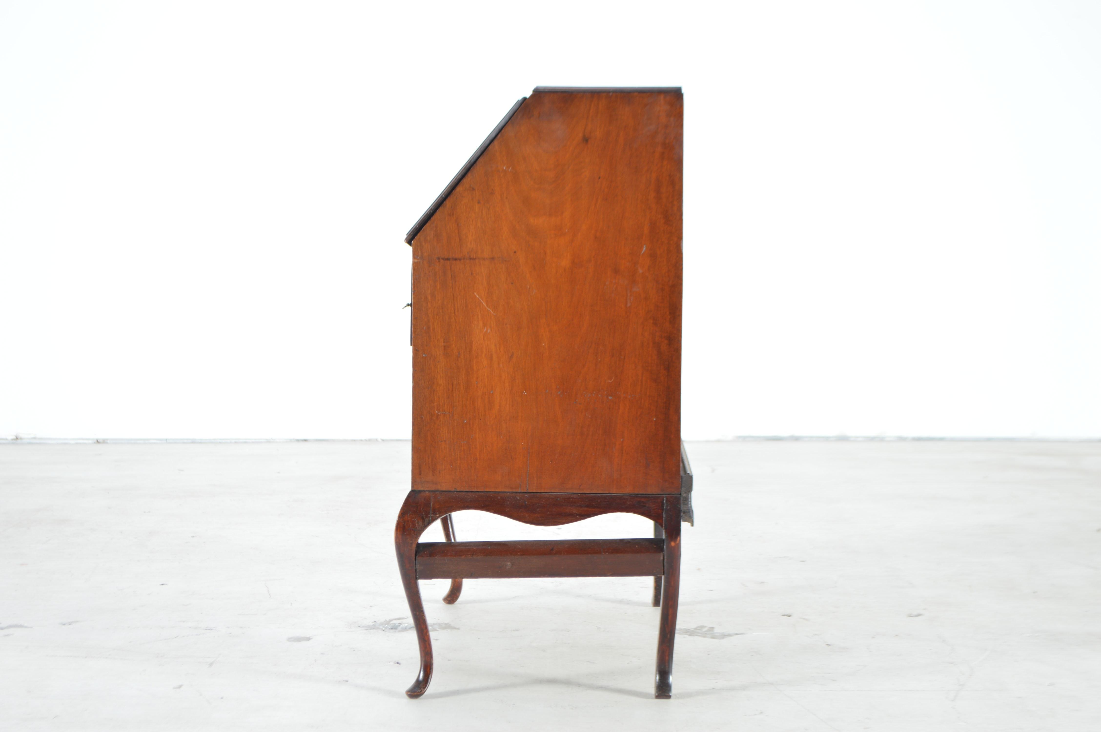 Antique Mahogany Ladies Slant Front Desk Ebth