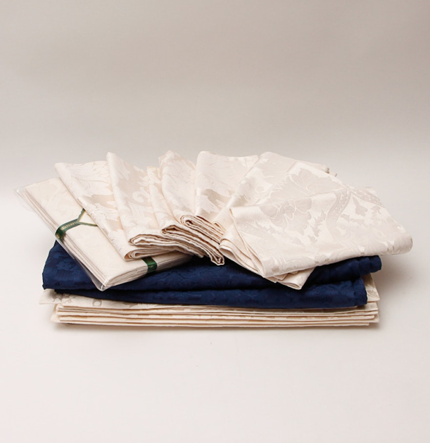 Collection Wedgewood Waterford Table Linen Ebth Best Waterford Table Linens For Elegant Kitchen Decoration
