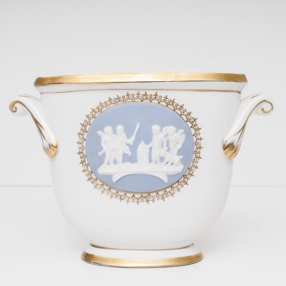 Wedgwood Blue Jasperware Ebth