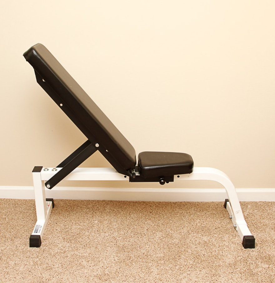 Adjustable Parabody Weight Lifting Bench Ebth