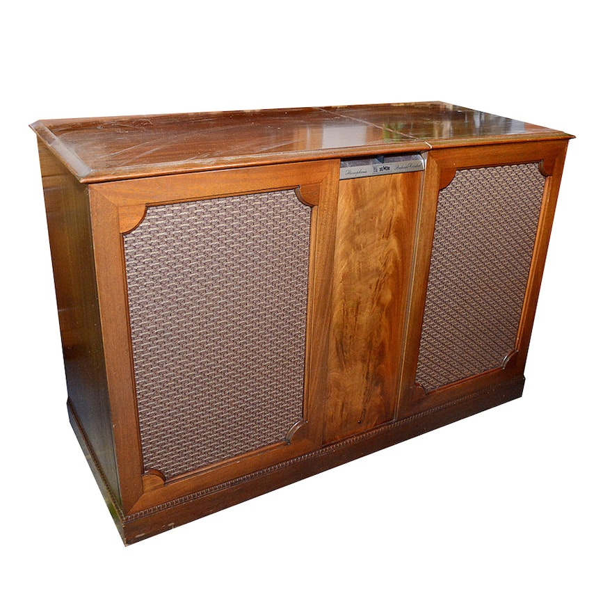 vintage dumont stereo console ebth