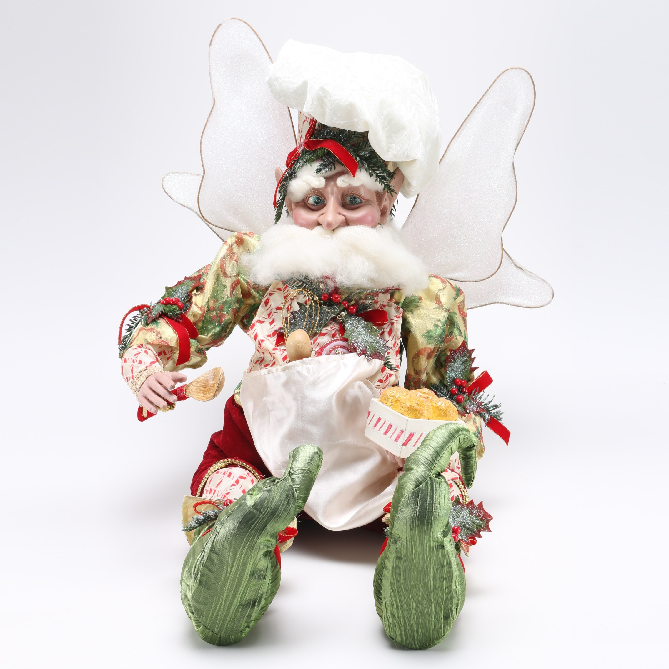 Holiday Baker Fairy Figure