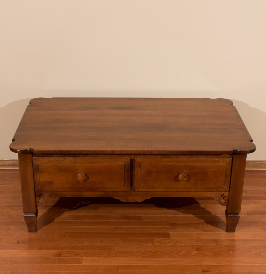 Aa Laun Coffee Table Aa Laun Furniture Co Walnut Coffee Table Ebth