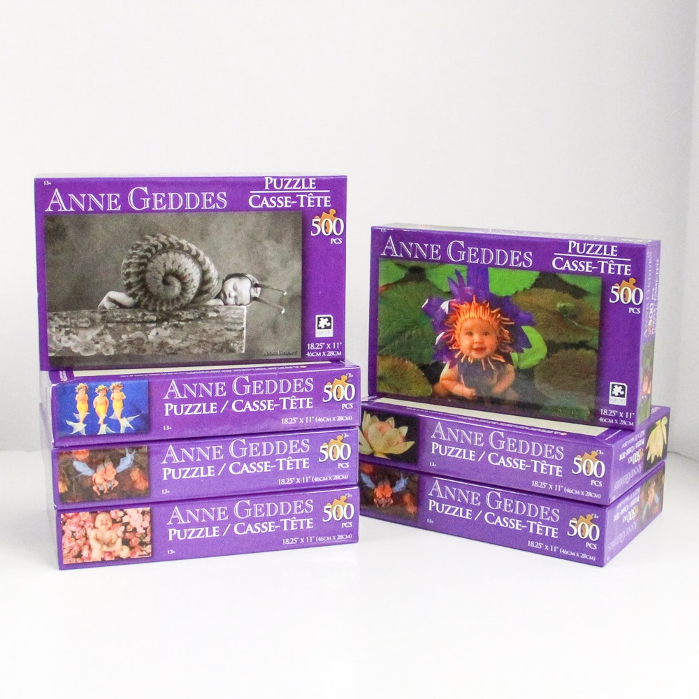 Group of Anne Geddes Puzzles