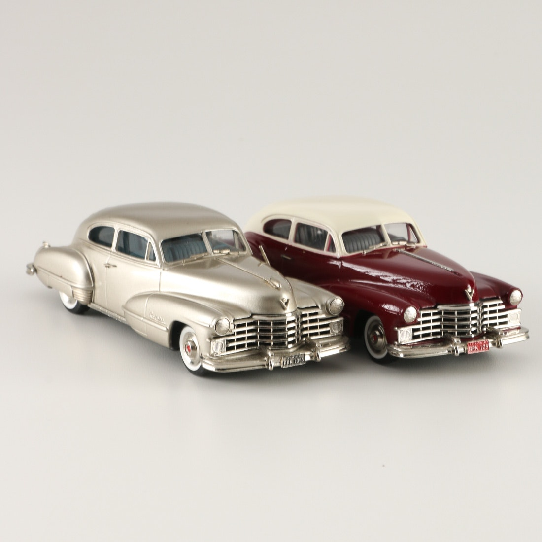 Pair Of 1947 Cadillac Series 62 Coupe Die-Cast Cars