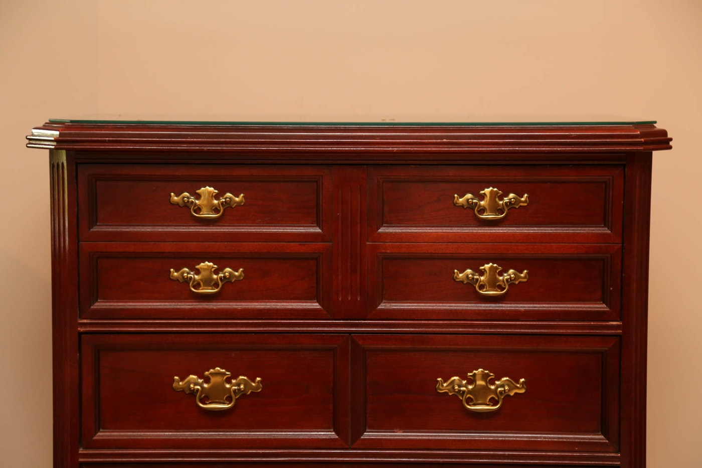 #400D04 Large Traditional Cherry Chest Of Drawers : EBTH with 1400x933 px of Best Traditional Chest Of Drawers 9331400 image @ avoidforclosure.info