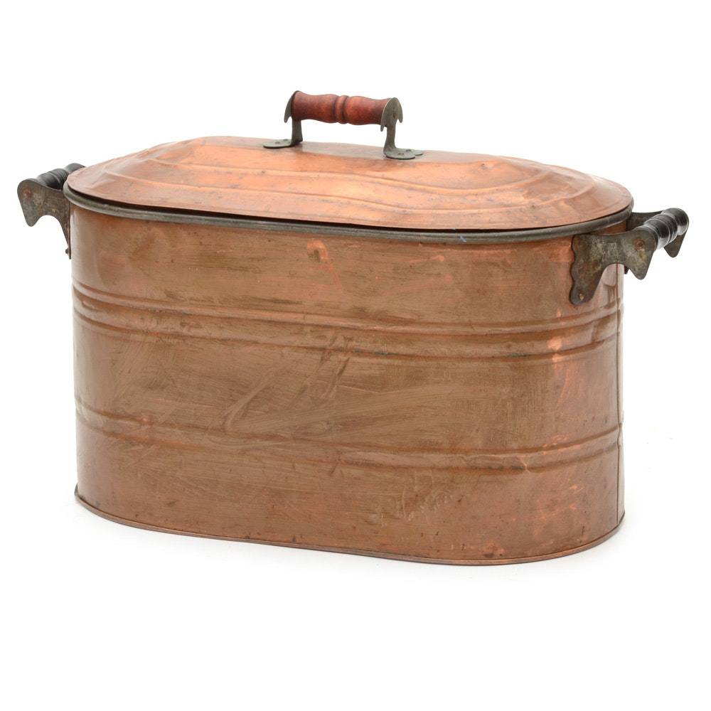 copper boiler wash tub