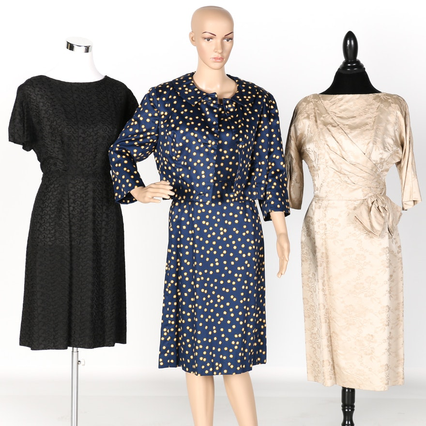 1960s Plus-size Dresses : EBTH