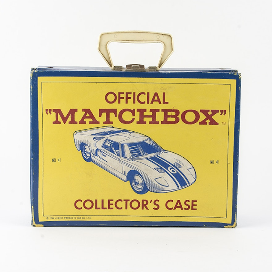 1966 Official Matchbox Collector S Case With Cars Ebth