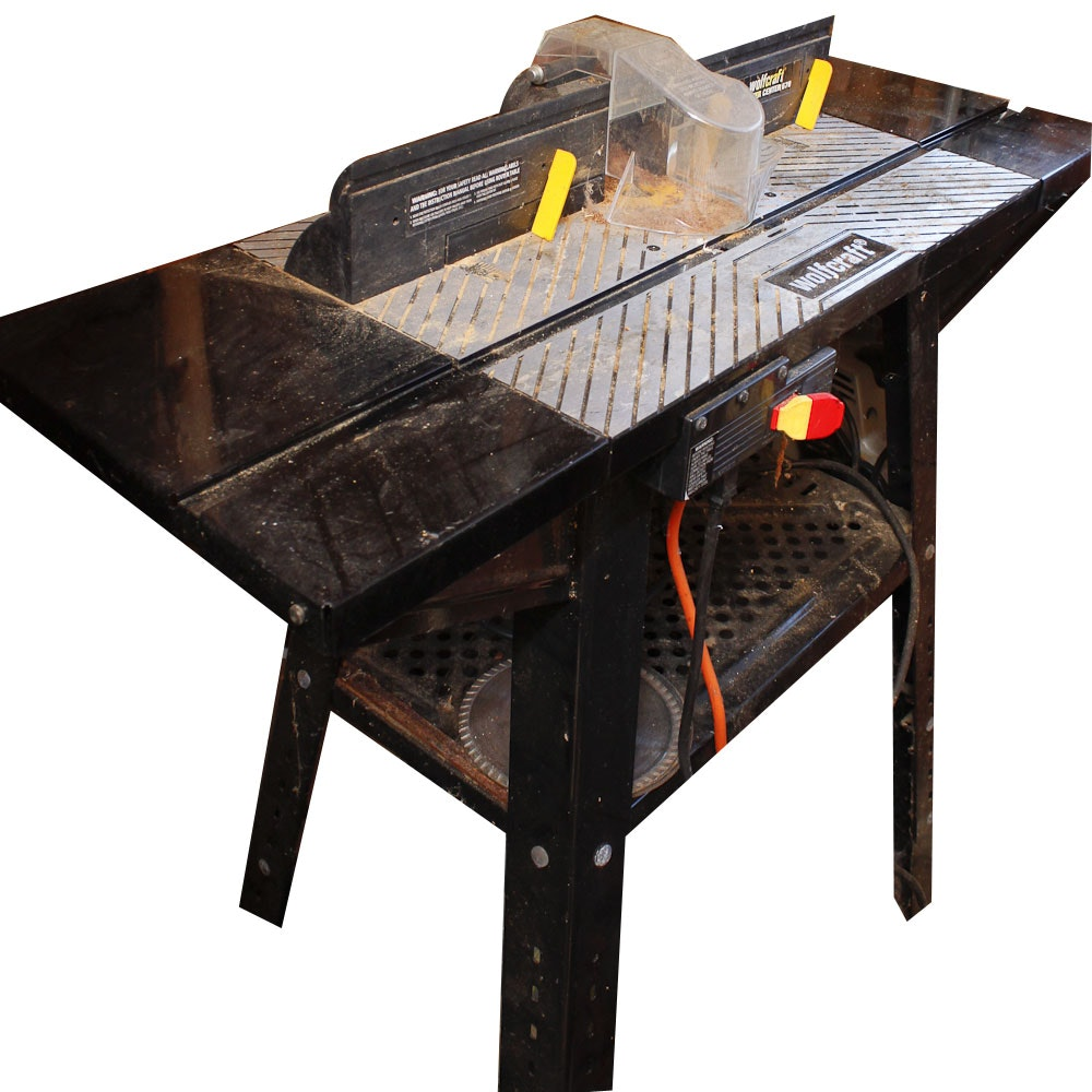 Eden Auto Sales >> Wolfcraft Router Table : EBTH