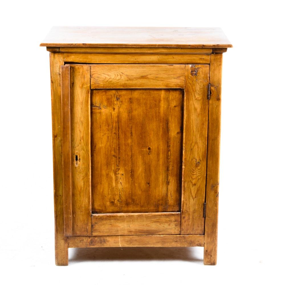 Rustic Knotty Pine Cabinet : EBTH