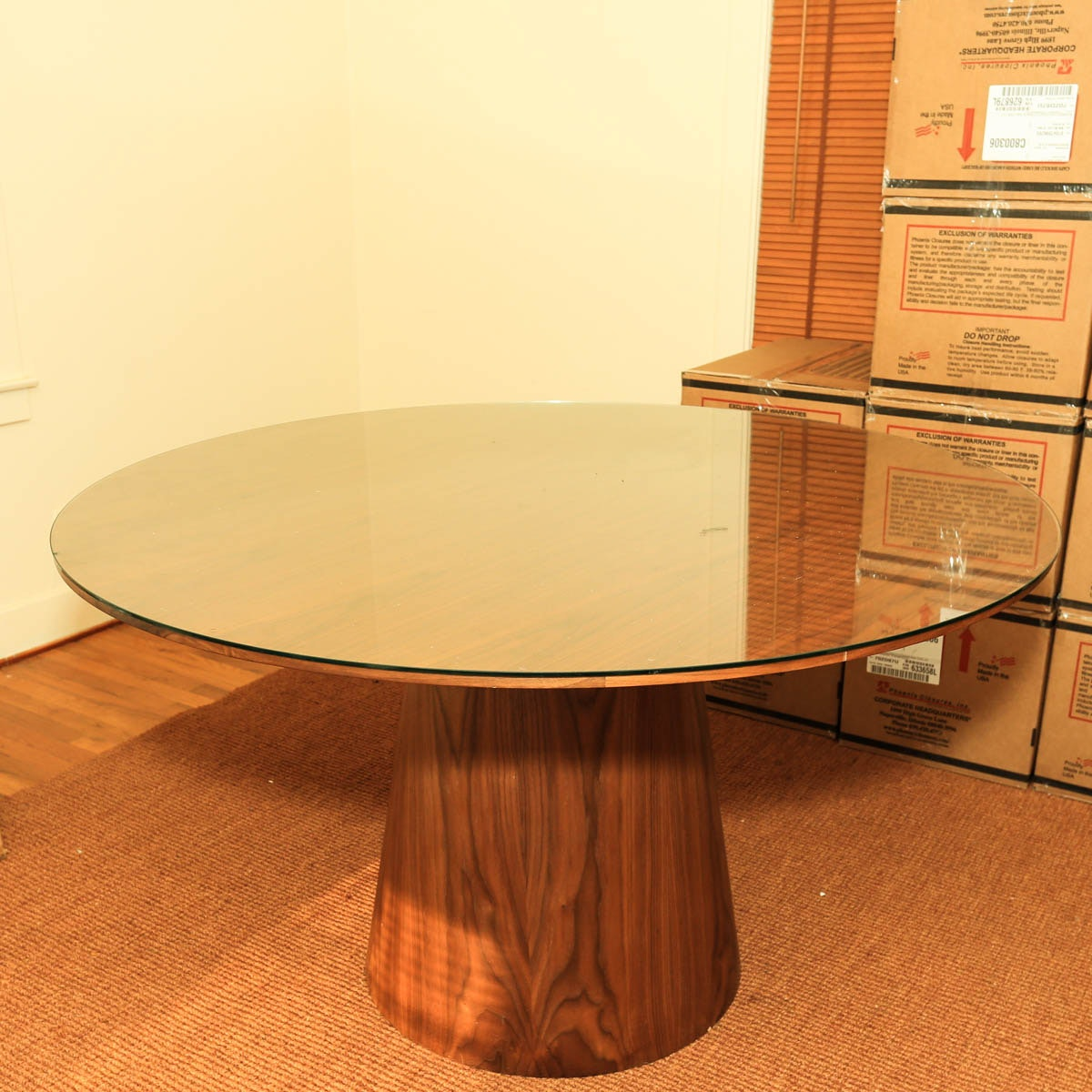 Late 20th to Early 21st Century Mushroom-Form Dining Table