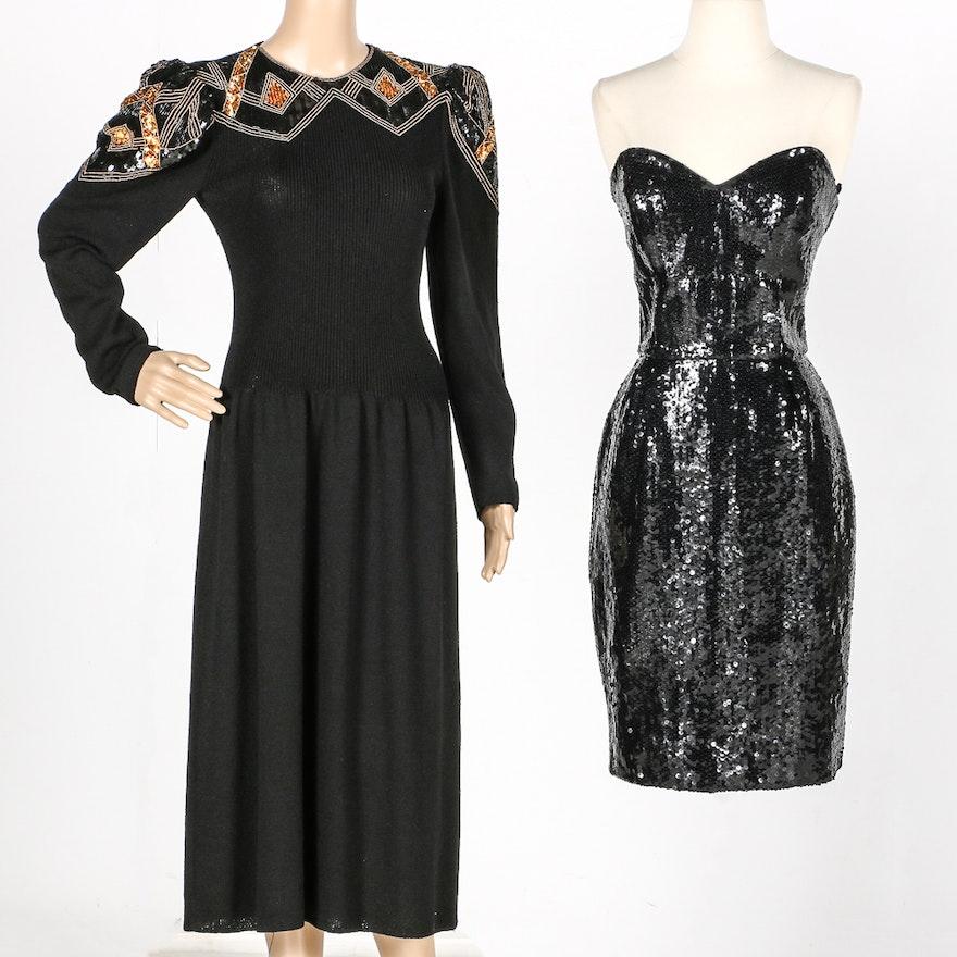 379e8230fb 1980s Saks Fifth Avenue Dresses Including Pat Sandler   EBTH