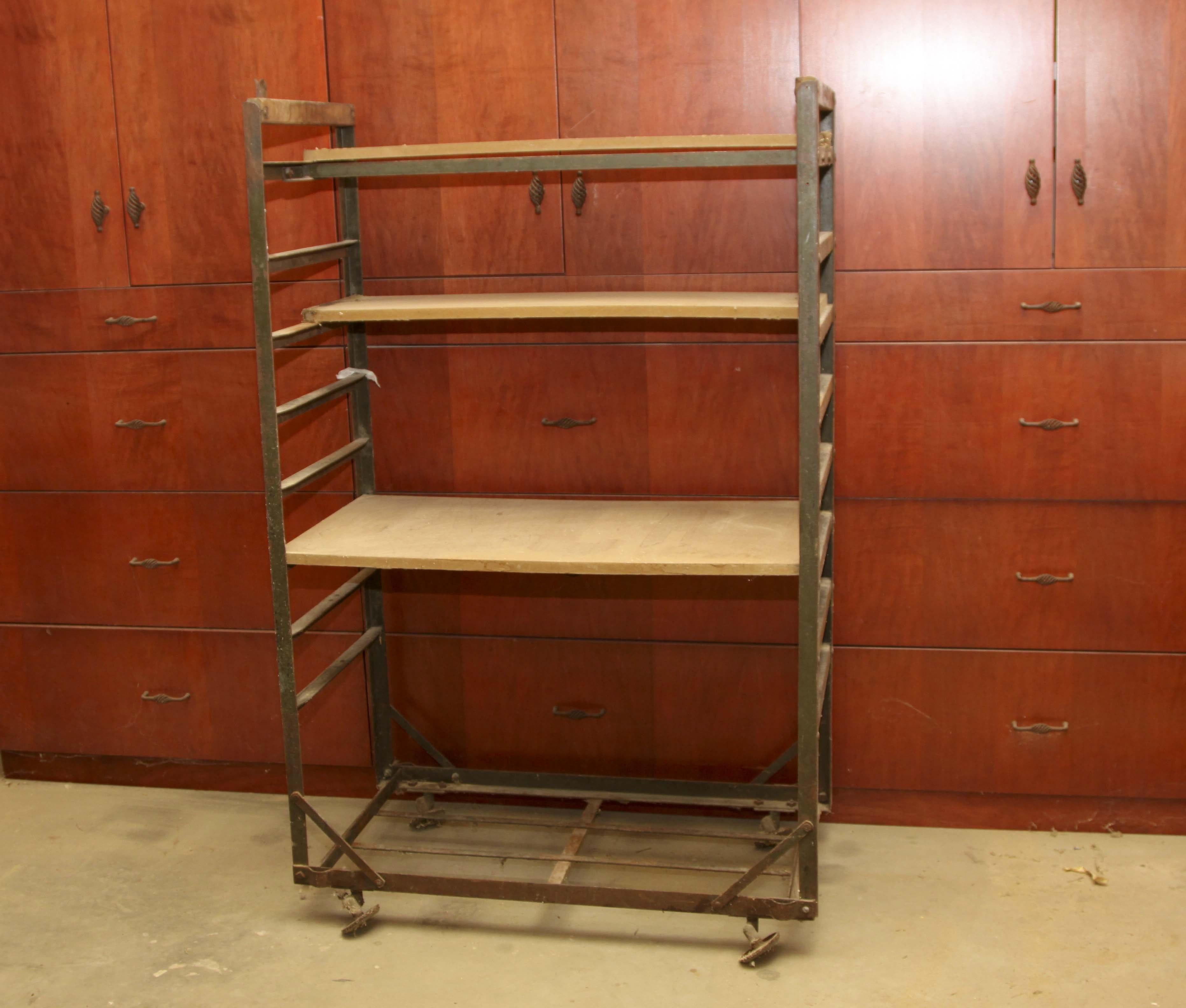 Bakers rack shelving I