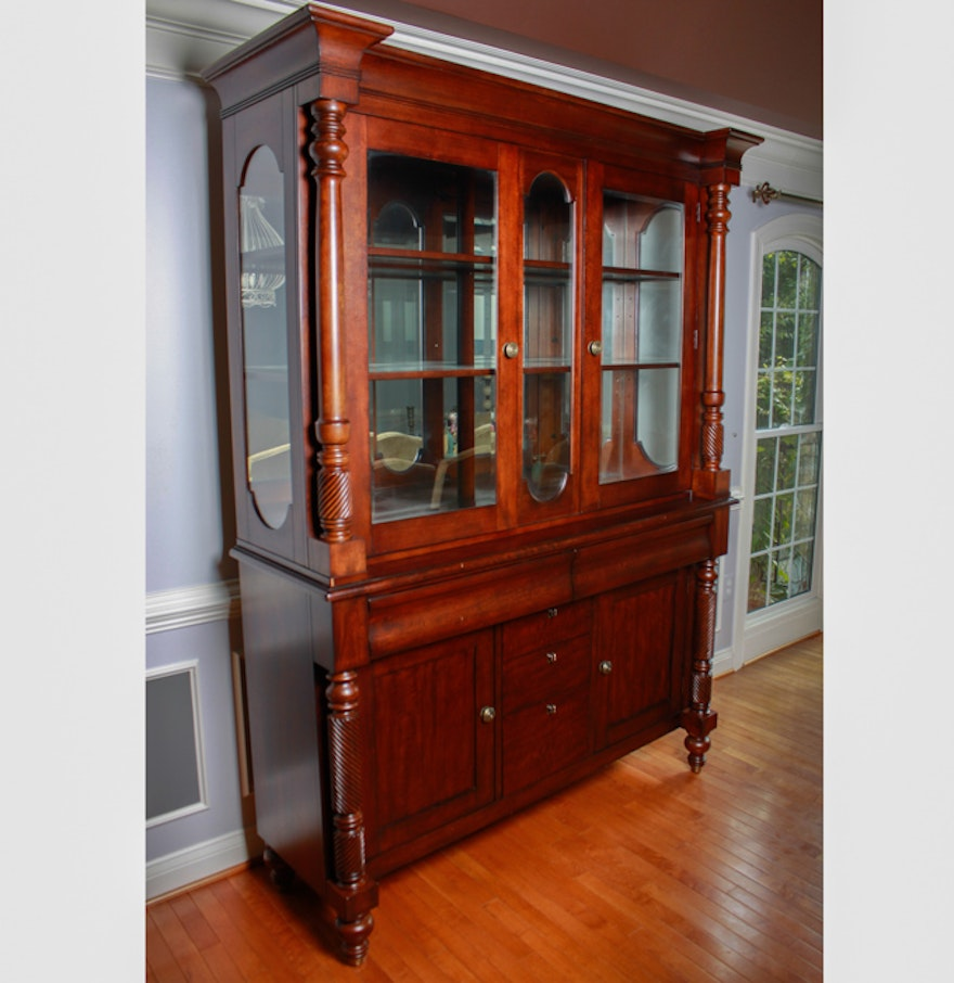Lane Furniture China Cabinet From The National Geographic Home Collection Ebth