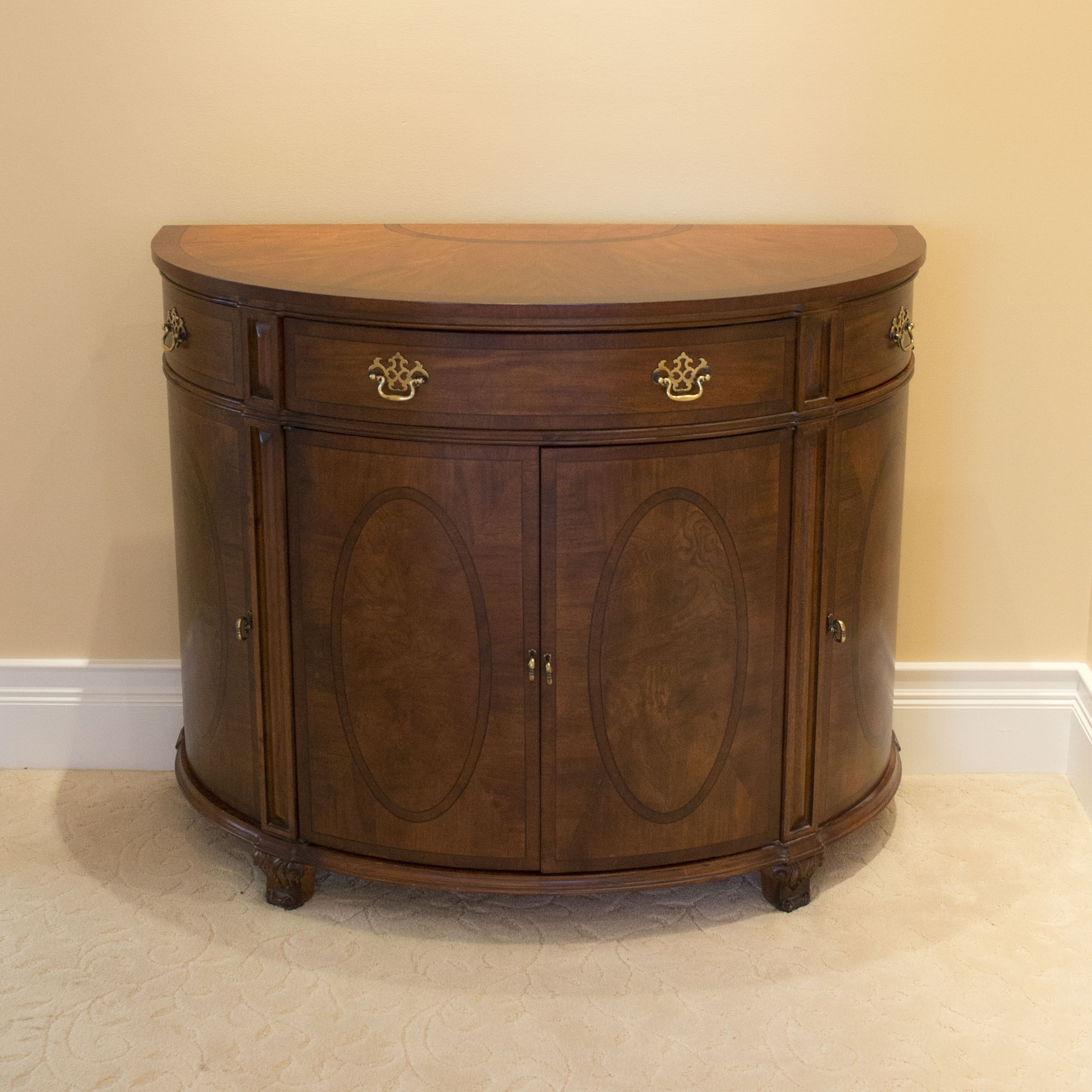 Merveilleux Shenandoah Valley Furniture Rounded Buffet Table ...