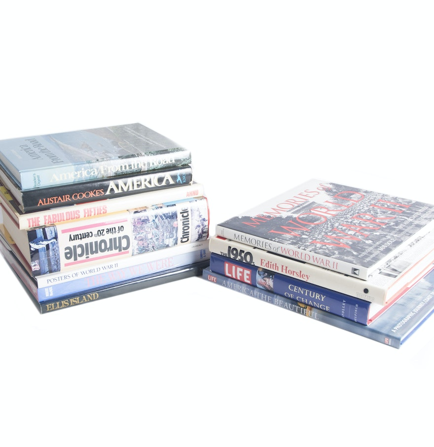 History coffee table books ebth for Top 10 coffee table books 2016