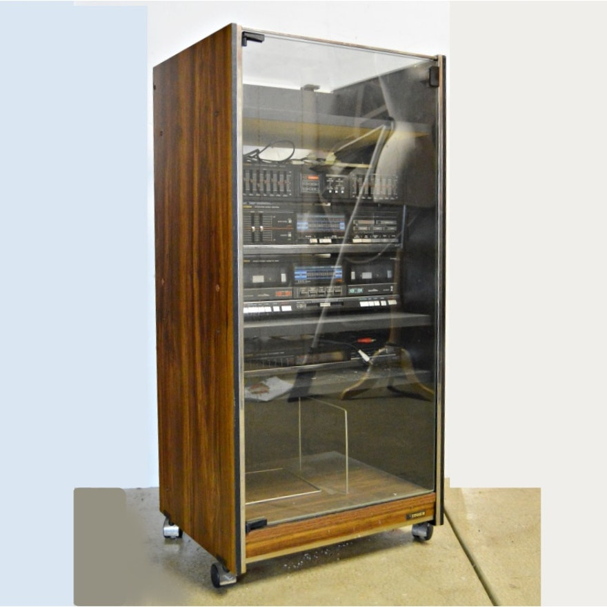 Component Cabinets With Glass Doors