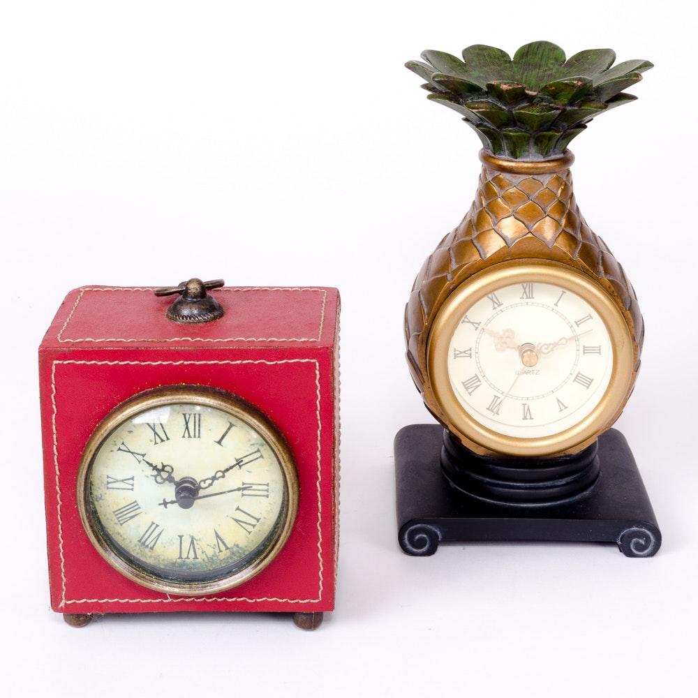 Tabletop Clocks ...