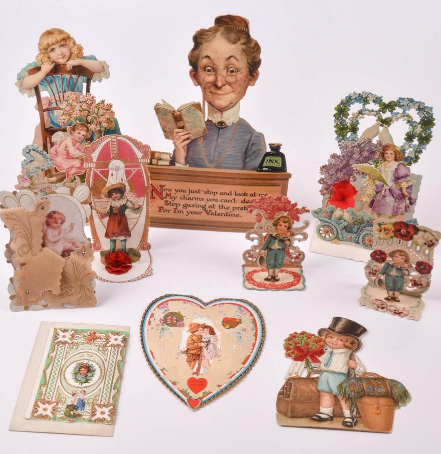 Antique German Valentines Day Cards EBTH – German Valentines Day Cards