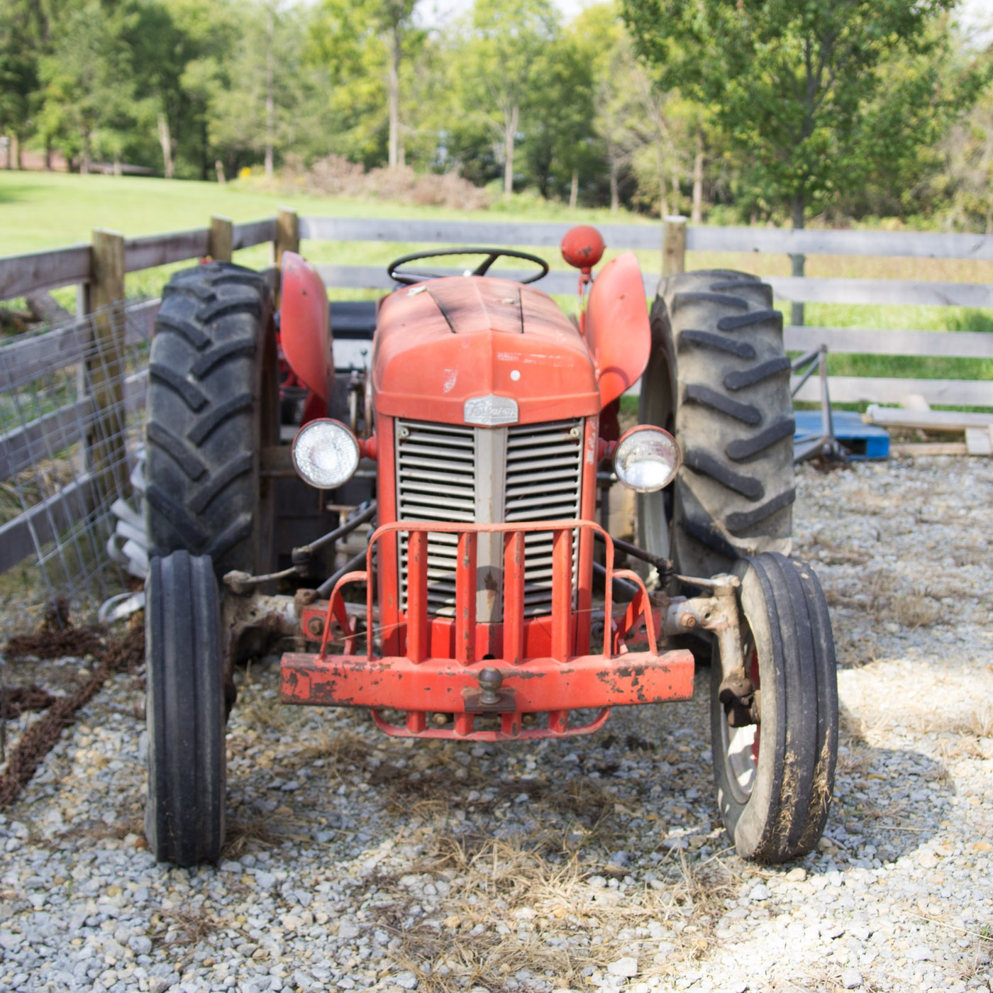 1960 Massey Ferguson TO-35 Tractor With Accessories : EBTH