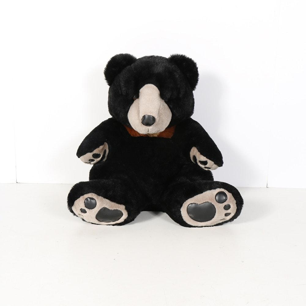 Large Black Teddy Bear Ebth