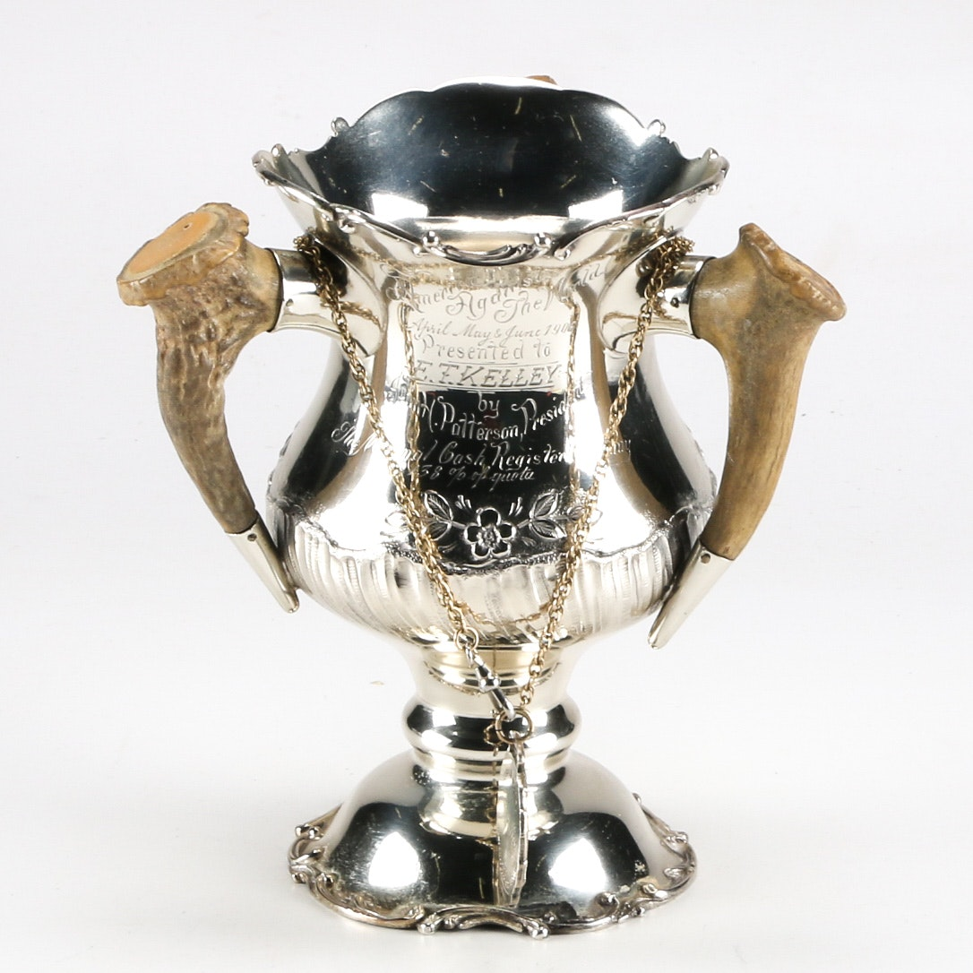 Sterling Silver Cup and Medal from National Cash Register