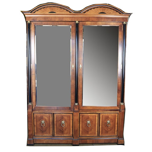 Late 20th Century Biedermeier Style China Cabinet by Century