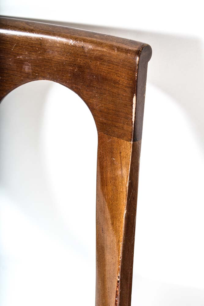Six Mahogany and Velvet Chairs by Kindel Furniture Co. : EBTH