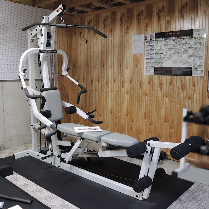 Pacific fitness solana home gym ebth