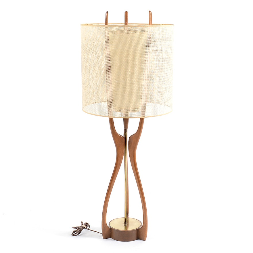 Table Lamp Pearsall By Adrian Modeline Walnut jqzLSUVMpG