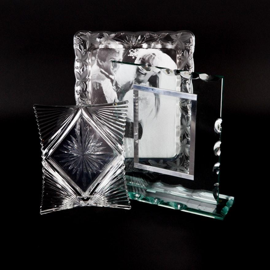 Glass Photo Frames Including Mikasa : EBTH
