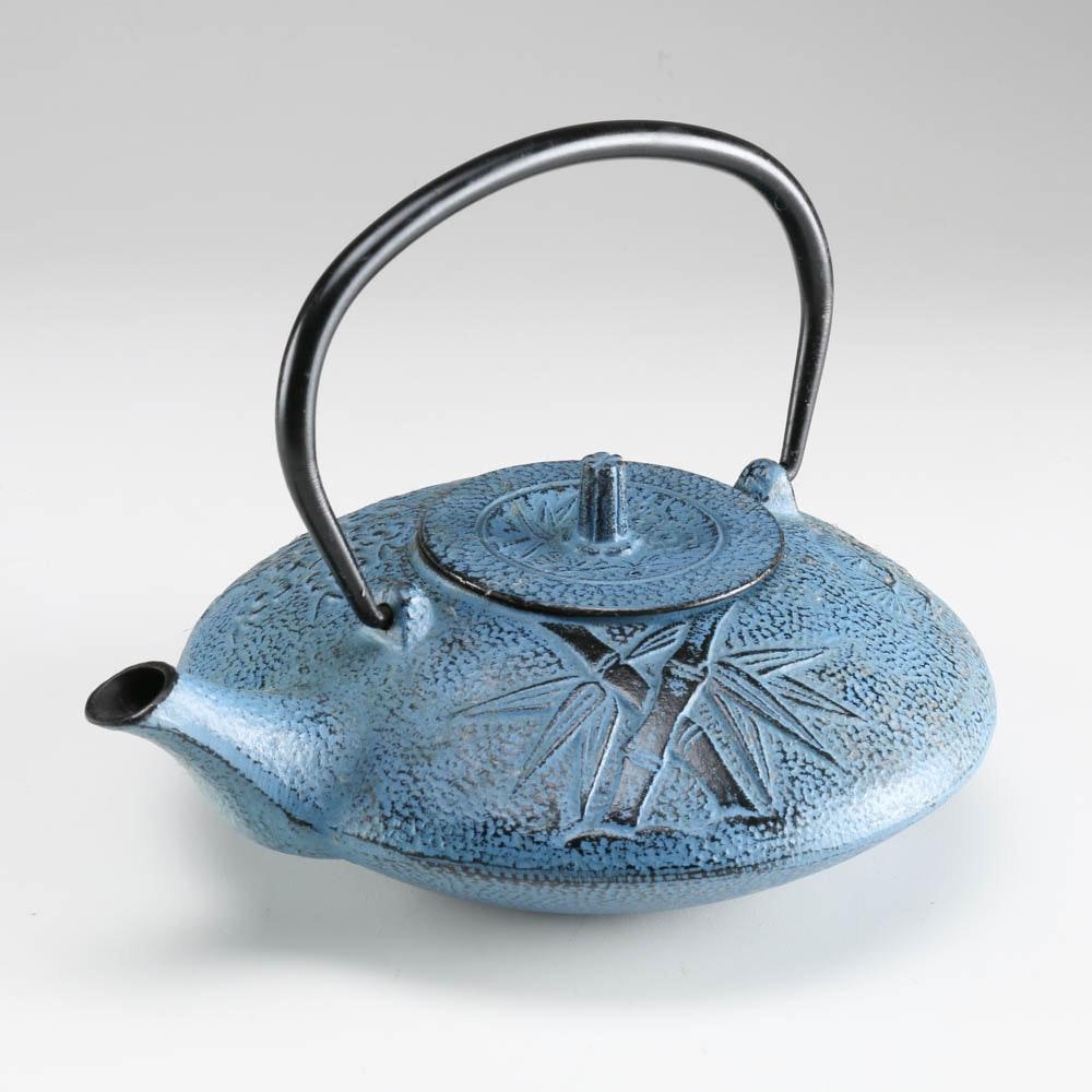 Vintage Cast Iron Japanese Tetsubin Tea Pot