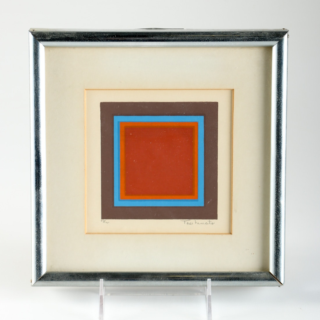 Simon Tashimoto Framed Limited Edition Serigraph