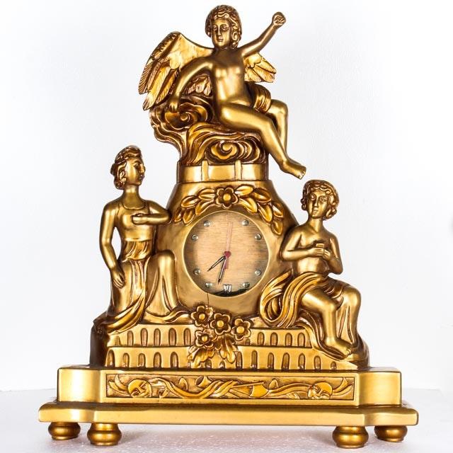 Vintage French Romantic Revival Clock
