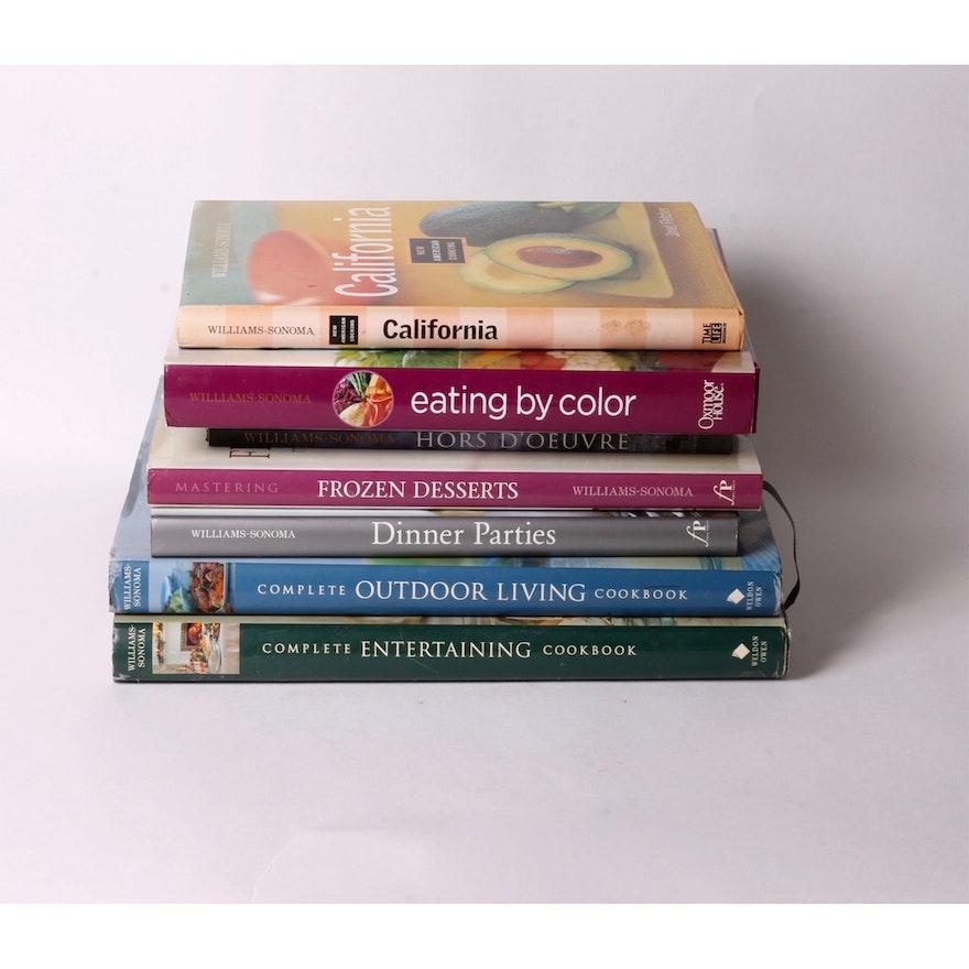 Williams Sonoma Cookbooks
