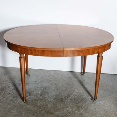 Walter Of Wabash Drop Leaf Dining Table Ebth