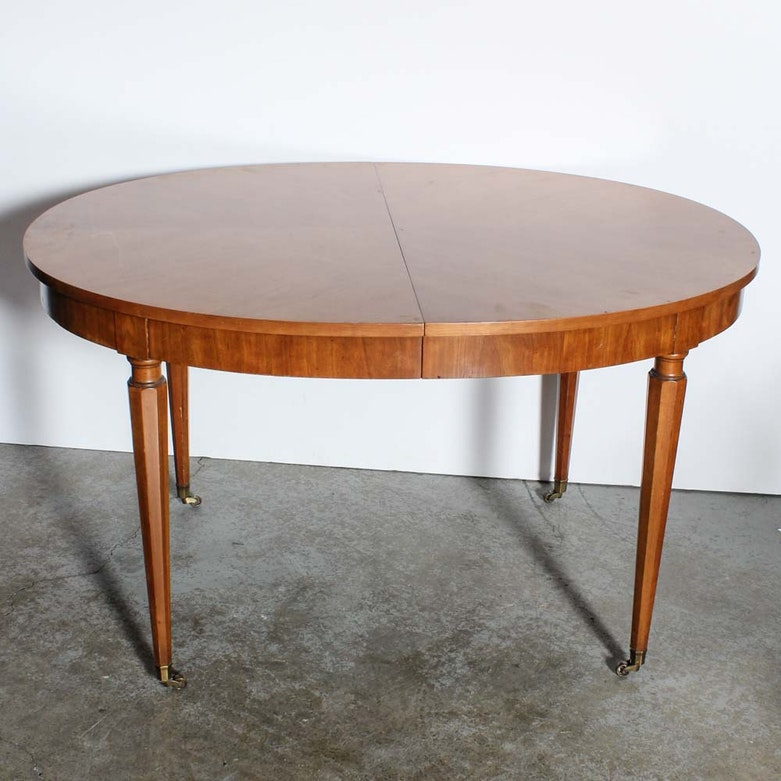 Walter Of Wabash Belvedere Expandable Dining Table By Kindel Ebth