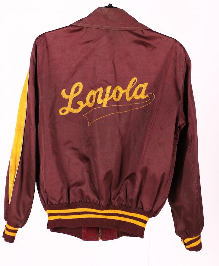 Chicago Knitting Mills : Loyola academy chicago catholic school jacket and sweater