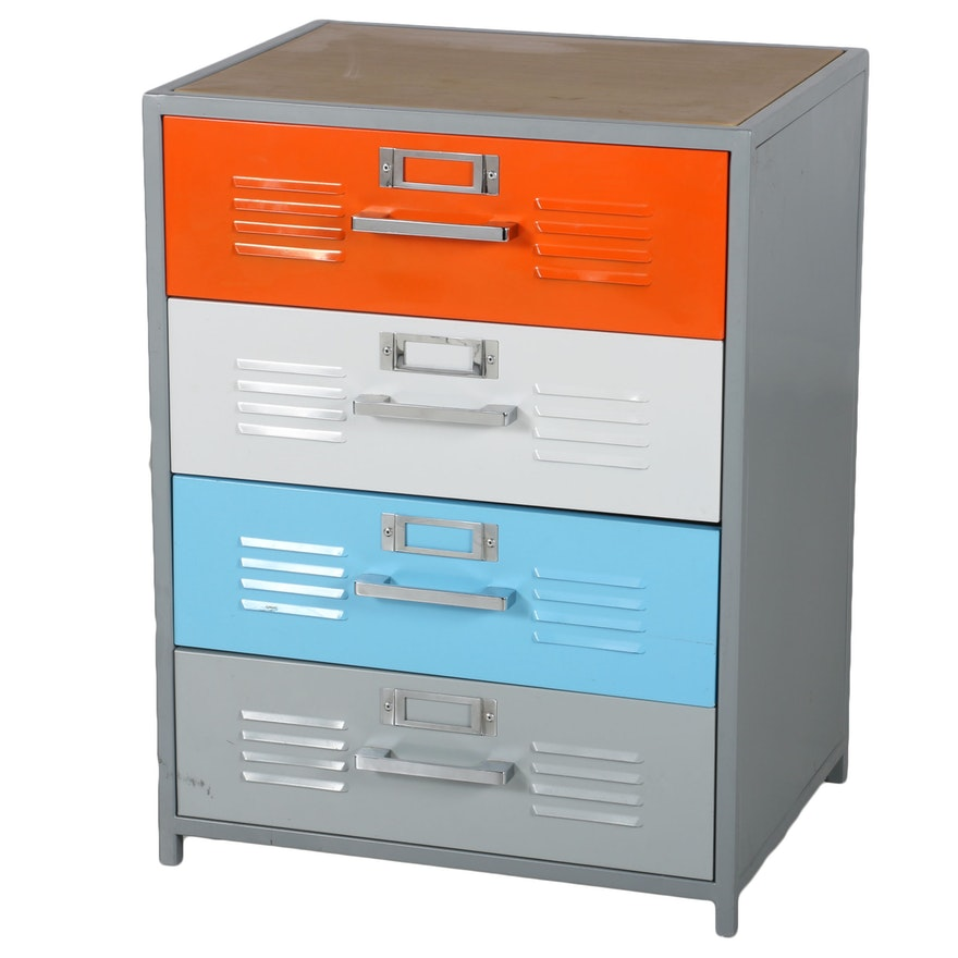 promo code fede4 f489f Multi Color Metal Filing Cabinet