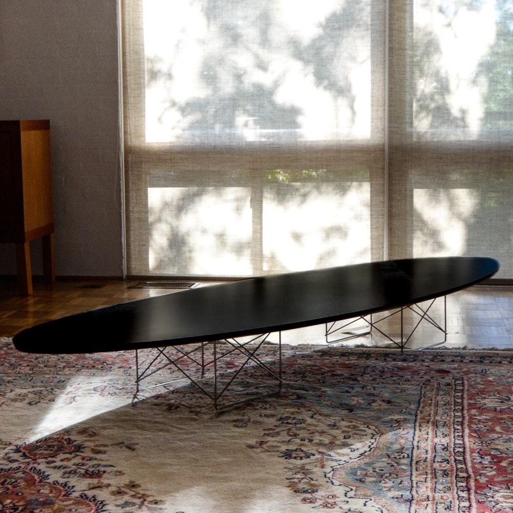 "Eames Elliptical ""Surfboard"" Coffee Table : EBTH"