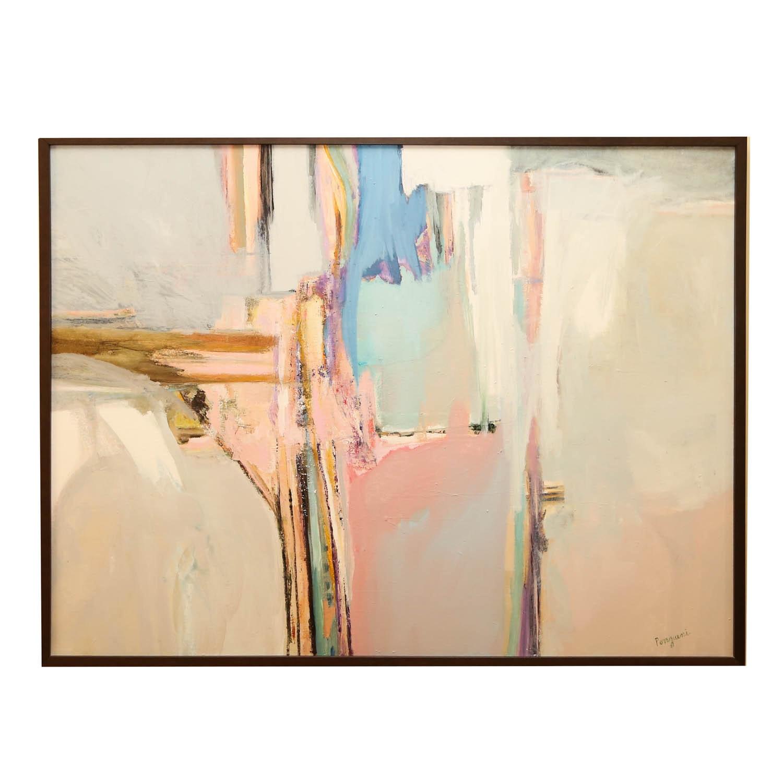 Signed Acrylic Painting on Canvas by Kathleen Ponziani