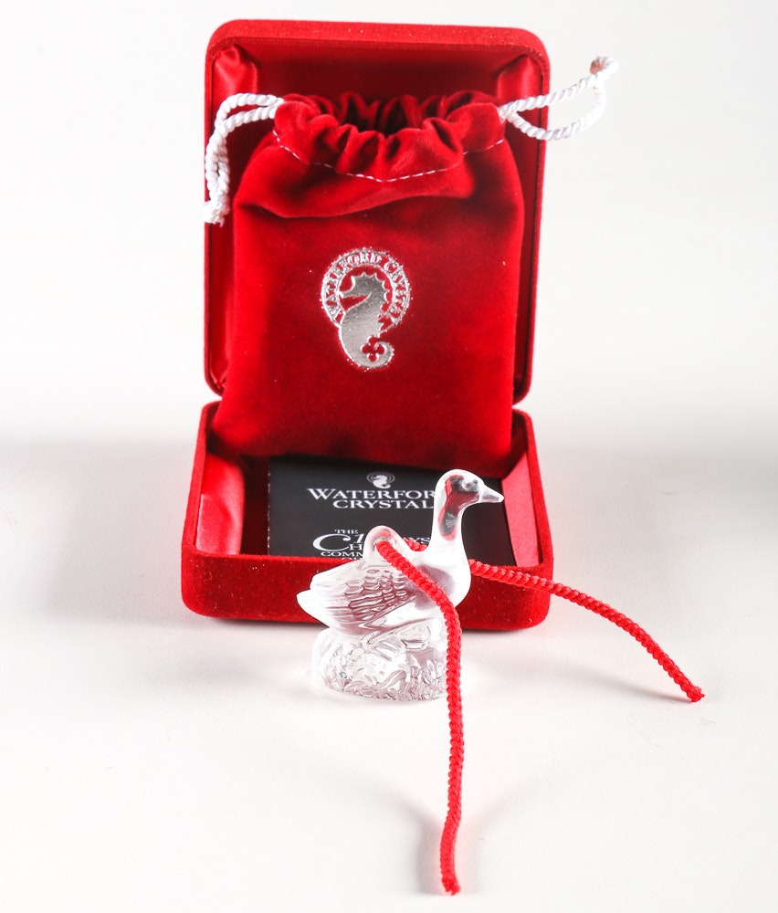 Waterford 12 Days Of Christmas Ornament Set