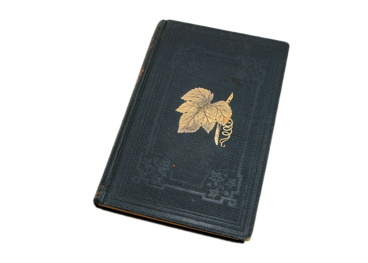 """Mid 19th Century """"The Grape Culturist"""" Book"""