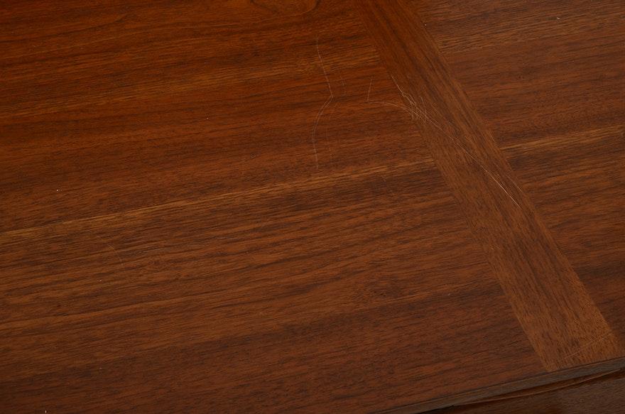 Heritage Henredon Walnut Desk Ebth